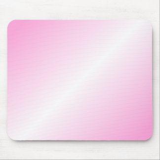 D2 Bi-Linear Gradient - Pink and White Mouse Pad
