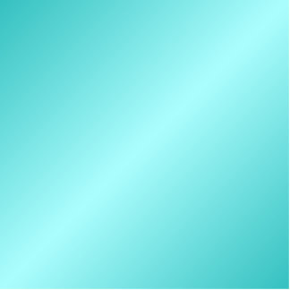D2 Bi-Linear Gradient - Turquoise and Light Cyan Cutout