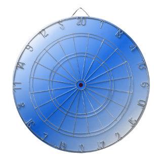 D2 Bi-Linear Gradient - White and Blue Dartboards