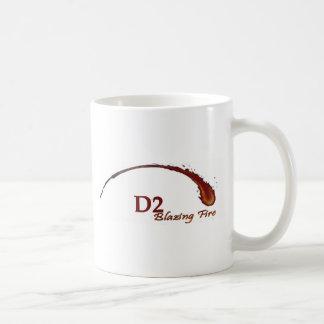 D2 Blazing Fire Mug
