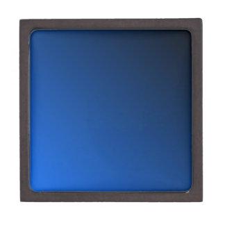 D2 Linear Gradient - Black to Blue Jewelry Box