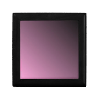 D2 Linear Gradient - Black to Pink Keepsake Box