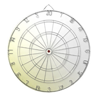 D2 Linear Gradient - White to Yellow Dartboard