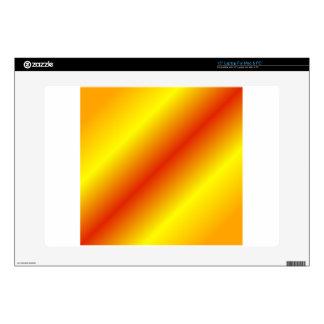 D2 pendiente bilinearia - naranja, amarillo, rojo skins para 38,1cm portátil