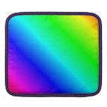 D2 pendiente linear - arco iris funda para iPads