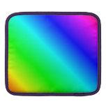D2 pendiente linear - arco iris fundas para iPads