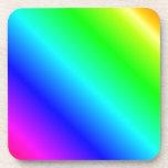 D2 pendiente linear - arco iris posavasos de bebida