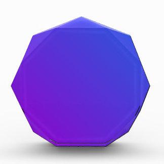 D2 pendiente linear - azul a la violeta
