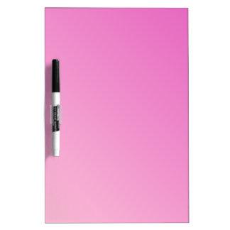 D2 pendiente linear - rosa oscuro a rosa claro tablero blanco