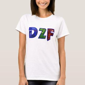 D2f White Tee, Female T-Shirt