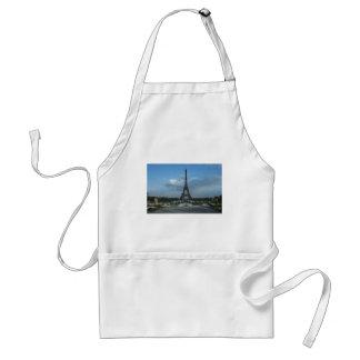 D3ia de la torre Eiffel Delantal