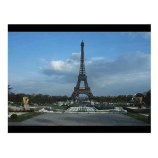 D3ia de la torre Eiffel Tarjeta Postal