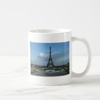 D3ia de la torre Eiffel Taza De Café