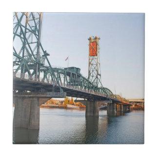 D3ia de Portland del puente de Hawthorne Azulejo Cuadrado Pequeño