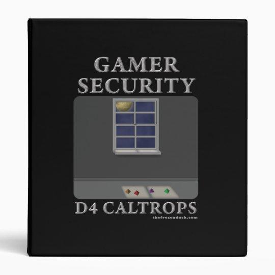 D4 Caltrops Binder
