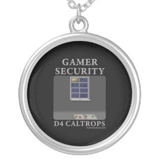 D4 Caltrops Pendant