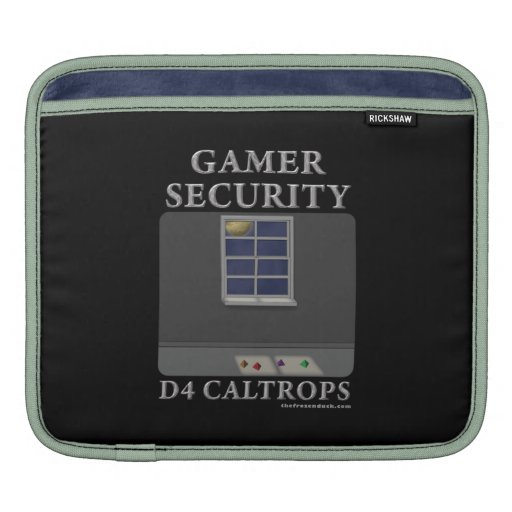 D4 Caltrops Sleeves For iPads