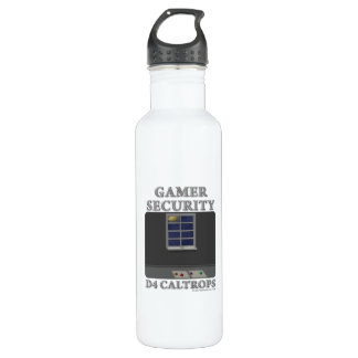 D4 Caltrops Water Bottle