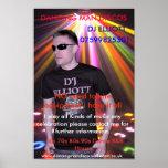 d4, DISCOS DE BAILE del HOMBRE, DJ ELLIOTT, 075998 Posters