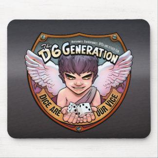 D6G Mousepad Tapete De Ratones