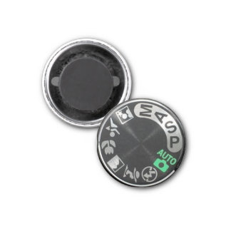 D90 Mode Dial 1 Inch Round Magnet