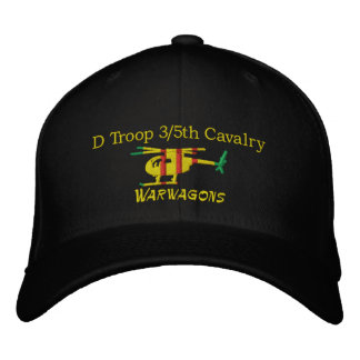 D/3/5th Cavalry OH-6 Loach Embroidered Hat