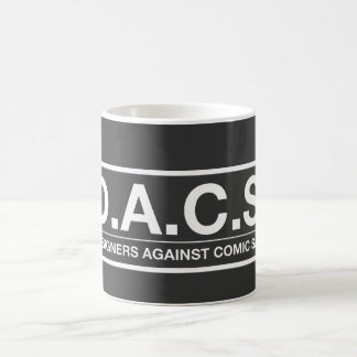 D.A.C.S. Designers Against Comic Sans Coffee Mug