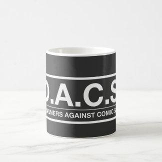 D.A.C.S. Designers Against Comic Sans Coffee Mug