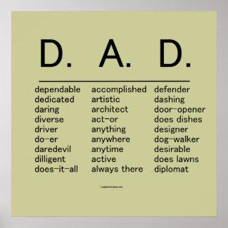 D.A.D. El día de padre Póster