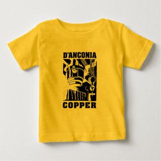 d'Anconia Copper / Black Logo Baby T-Shirt