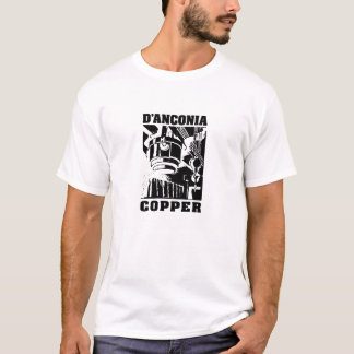 d'Anconia Copper / Black Logo T-Shirt