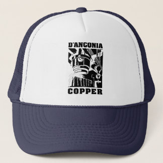 d'Anconia Copper / Black Logo Trucker Hat