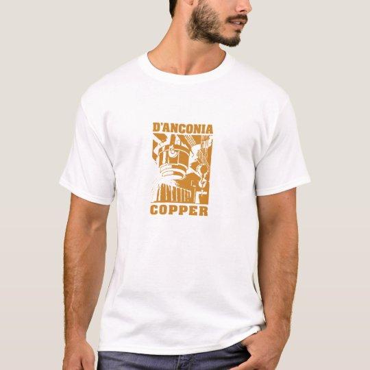 d'Anconia Copper / White Logo T-Shirt