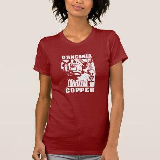 d'Anconia Copper / White Logo Tshirts