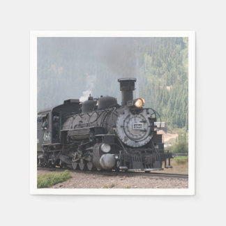 D and S 486 Leaving Silverton Napkin