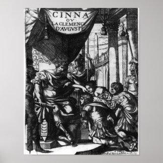 d Auguste de Clemence del la del ou de Cinna Impresiones