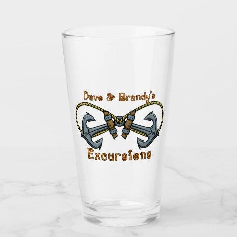 D&B Excursions Glass Tumbler