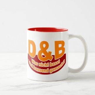 D&B Logo_3 v2 Two-Tone Coffee Mug