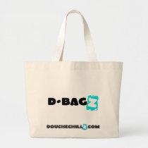 D-Bagz Jumbo DoucheChillz Blue Jumbo Tote Bag