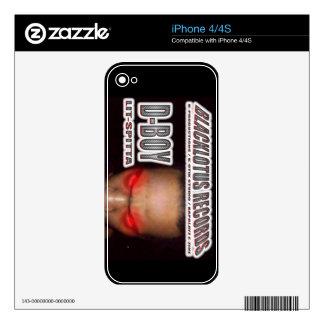 D-BOY LIT-SPITTA Skin iPhone 4S Decals