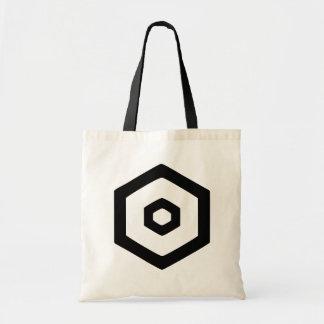 D Bullseye Tote Bag