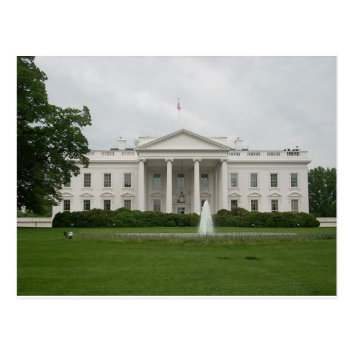 D.C. casa blanca Postal