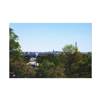 D.C. From Arlington Wrapped Canvas