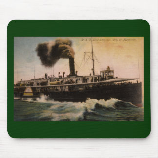 D&C Line Steamer City of Mackinac Mouse Pad