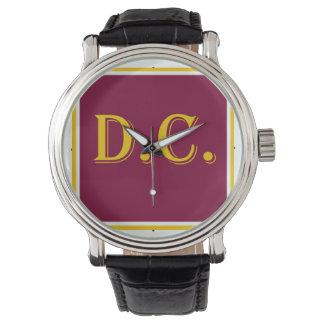 D.C. Orgullo Relojes De Mano
