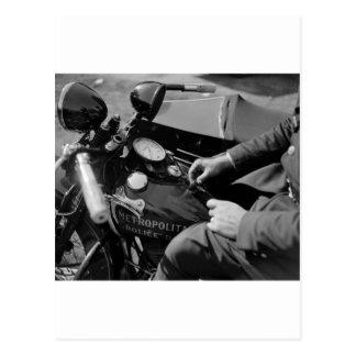 D.C. Poli de motocicleta, los años 30 Postales