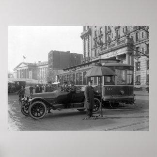 D.C. Poli de tráfico, 1913 Póster