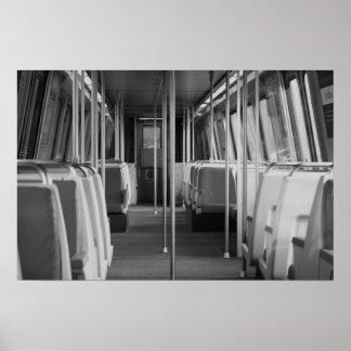 D.C. Subway Car Poster