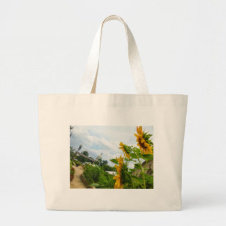 D.C. Sunflowers Large Tote Bag
