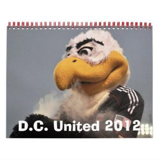 D.C. Unido 2012 Calendario De Pared